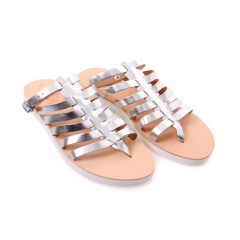 Ithaca.2-Women Metallic Leather Sandals