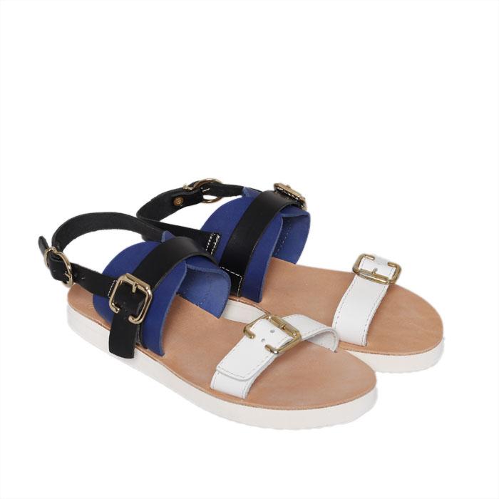 65874ed48ff4c Venice-Metallic Women Leather Sandals