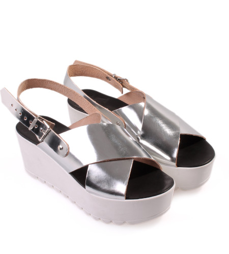 Barcelona-Women Leather Sandals