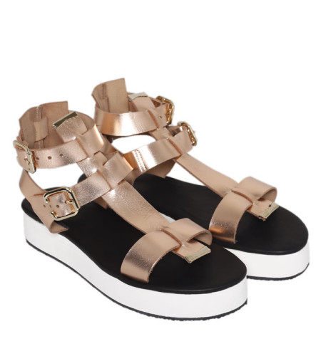 London-Women Leather Sandals