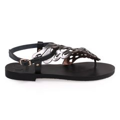 Althaia-Women Metallic Leather Sandals
