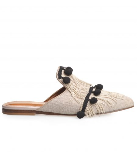 Emma - Women Leather Mules