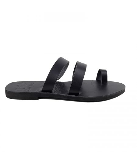 N.Santorini-Women Leather Sandals