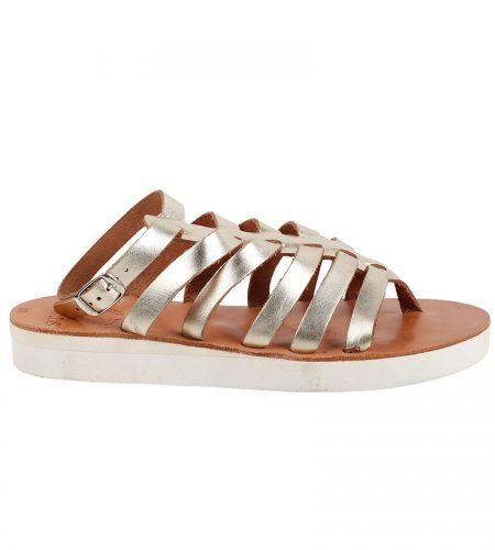 Ithaca.2-Women Metallic Leather Sandals