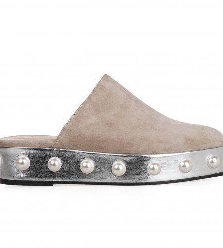 Sarah/S - Women Suede Sandals
