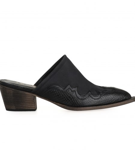 Amelia- Women Leather Mules