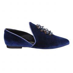 Collete/Velvet- Women Velvet Shoes
