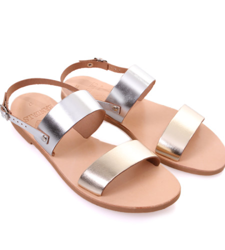 Chloe Multy-Women Metal Multy Sandals