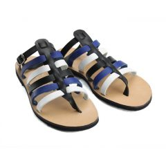 Ithaca Blue Multi-Women Leather Sandals (2)