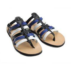 Ithaca Blue Multi-Women Leather Sandals (2)