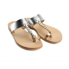 Patmos Metal Multi- Women Metallic Leather Sandals