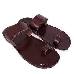 Chris(62)-Men Leather Sandals