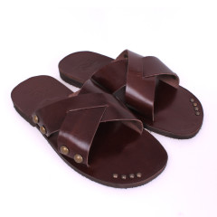 Kass(63)-Men Leather Sandals