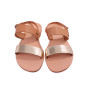 Chloe-Women Metallic Leather Sandals
