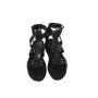 Rome.R-Women Metallic Leather Sandals