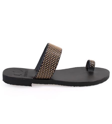 Milos-Women Pony Leather Sandals