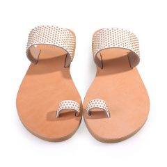 Milos-Women Pony Leather Sandals