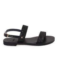 Chloe-Women Glitter Leather Sandals