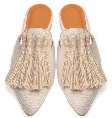 Virginia - Women Leather Mules
