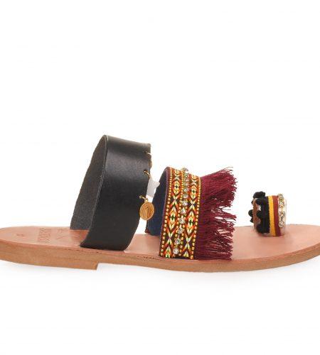 Santorini/Ethnic-Women Leather Sandals