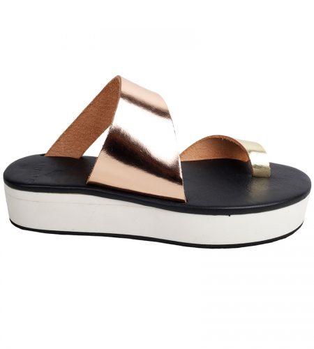 Antiparos/C-Women Leather Sandals