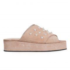 Mariam/S - Women Suede Sandals