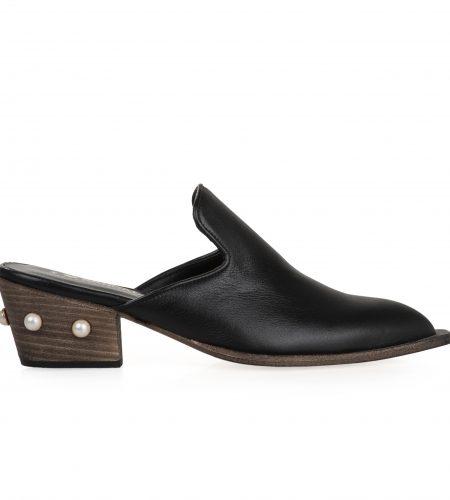 Elaine- Women Leather Mules