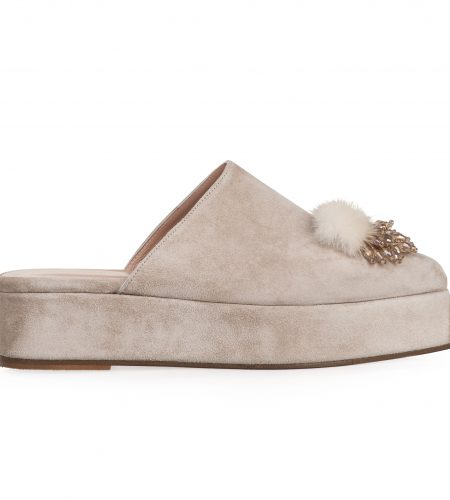 Yasmin/Suede- Women Leather Mules