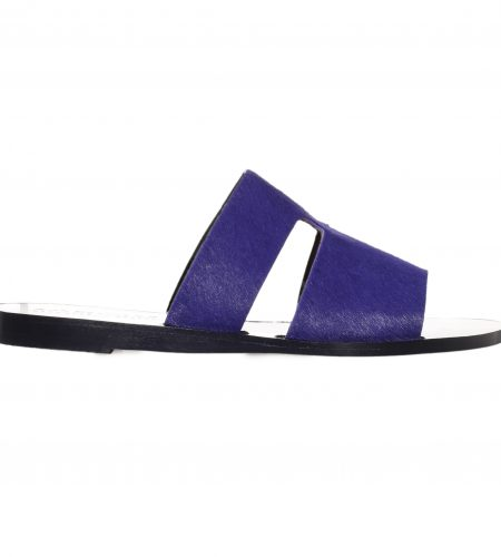 Hermes/Pony- Women Leather Sandals