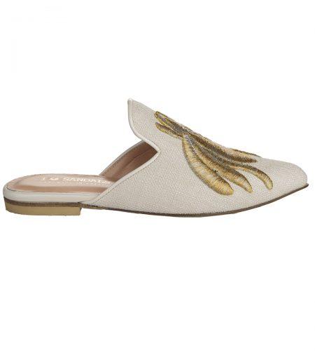 Melissa - Women Linen Mules