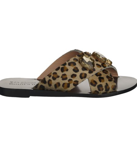 Gaia Strass - Women Pony Sandals