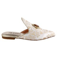 Saffira - Women Fabric Mule