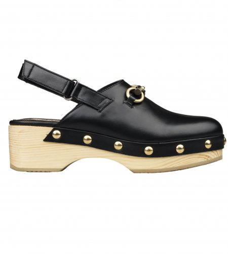 Adeline - Women Leather Clogs