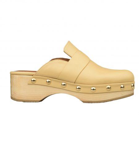 Hodd - Women Leather Clogs