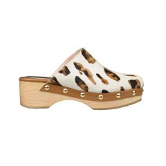 Una - Women Pony Clogs
