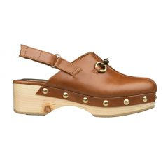 Kaya - Women Leather Clogs