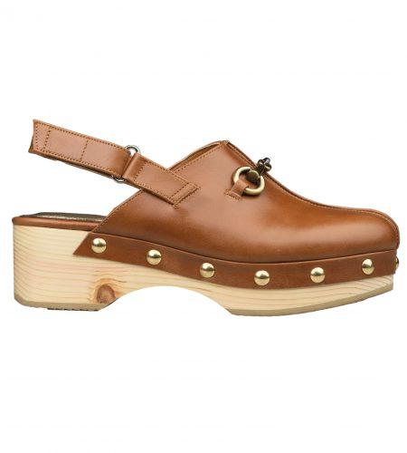Kaya - Women Leather Clogs