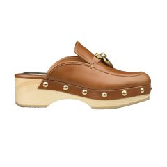 Erna - Women Leather Clogs